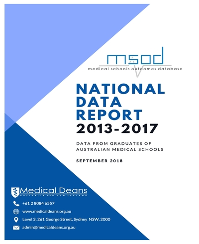 Medical Schools Outcomes Database Reports - Medical Deans